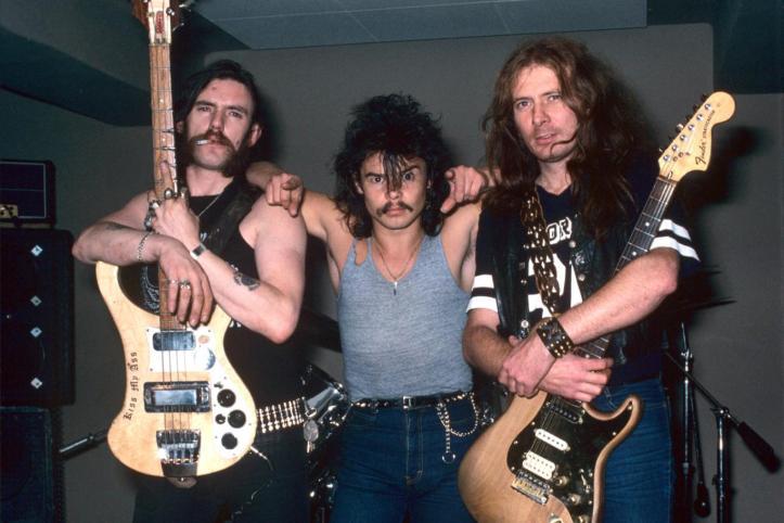 motorhead 1980 fast eddie clarke phil taylor lemmy
